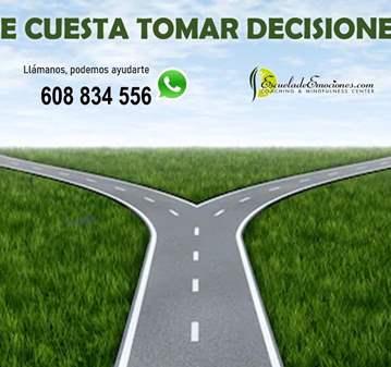 ¿TE CUESTA TOMAR DECISIONES? - CONFIRMACIÓN PREVIA
