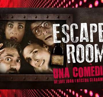 EVENTO: TEATRE GOYA : ESCAPE ROOM (PLACES LIMIT...