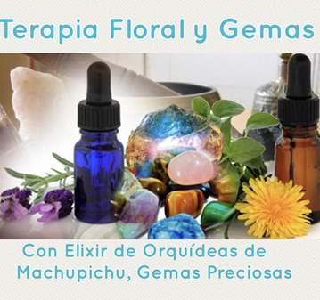 TERAPIA FLORAL ELIXIR DE ORQUÍDEAS Y GEMAS