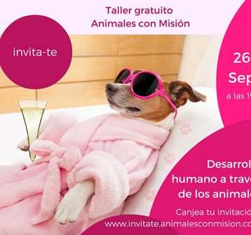 TALLER: TERAPIA GESTALT ASISTIDA POR ANIMALES