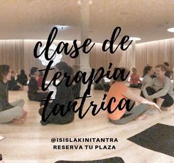 CLASE: TERAPIA TÁNTRICA GRUPAL