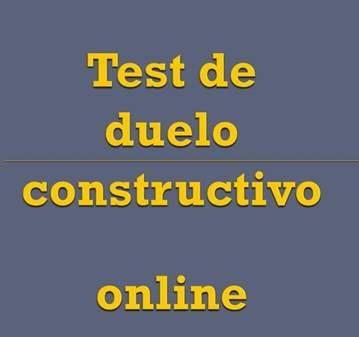 TEST: DUELO CONSTRUCTIVO: RESULTADOS ONLINE