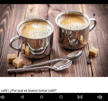 CHARLA: TOMAR CAFE Y HABLAR DE ALGO SIMPLEMENTE