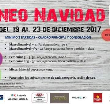 EVENTO: TORNEO DE PADEL NAVIDAD SFK