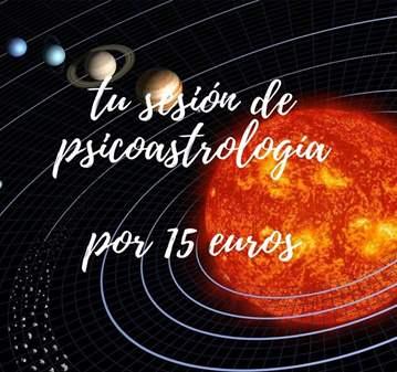 TU SESIÓN DE PSICOASTROLOGÍA POR 15 €