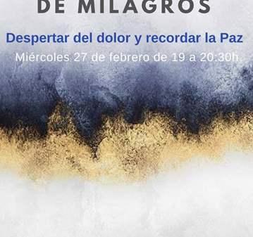 CHARLA: UN CURSO DE MILAGROS EN MATARÓ