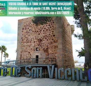 VISITA GUIADA A LA TORRE DE SANT VICENT