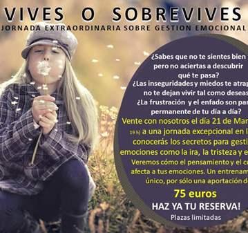 JORNADA: VIVES O SOBREVIVES - CONFIRMACION PREVIA