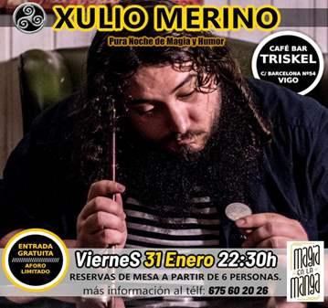 EVENTO: XULIO MERINO NOCHE DE MAGIA