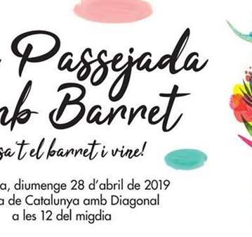QUEDADA: XV PASSEJADA AMB BARRET-VINE AMB BARRE...