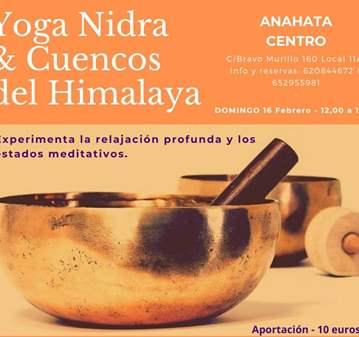 CLASE: YOGA NIDRA Y CUENCOS DEL HIMALAYA