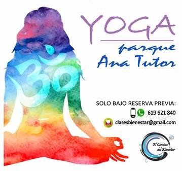 CLASE: YOGA PARQUE ANA TUTOR (MIRASIERRA)