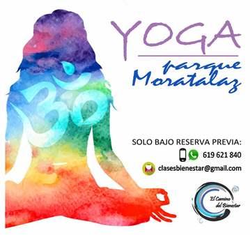 CLASE: YOGA PARQUE MORATALAZ (TARDES)