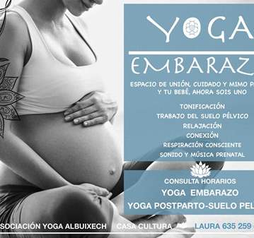 CLASE: YOGA PRENTAL EMBARAZO Y YOGA POSTPARTO S...