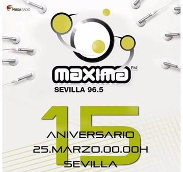 FIESTA: ANIVERSARIO DE MAXIMA FM. OS ANIMAIS?