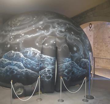 ASTRONOMÍA EN EL PLANETARIO