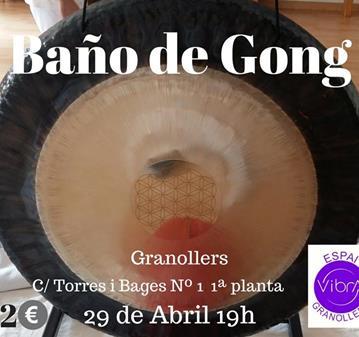CONCIERTO: BAÑO DE GONG LA FLOR DE LA VIDA