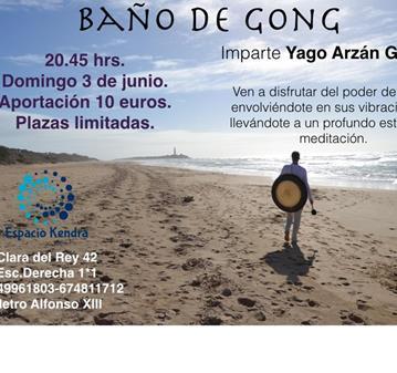 CONCIERTO: BAÑO DE GONG