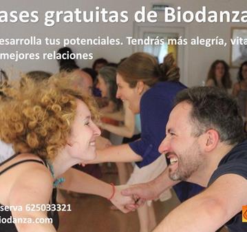 EVENTO: BIODANZA CLASE ABIERTA, INICIO DE CURSO