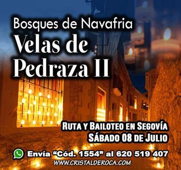 EXCURSIÓN: VELAS DE PEDRAZA II (YA SOMOS 42)