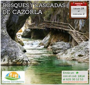 VIAJE: BOSQUES Y CASCADAS DE CAZORLA