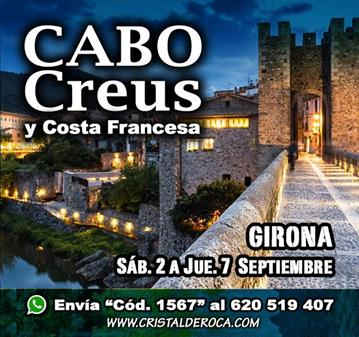 VIAJE: CABO DE CREUS Y COSTA FRANCESA (SOMOS 18)