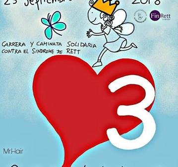RUTA: CAMINATA SOLIDARIA SINDROME DE RETT (MACARENA DAY)