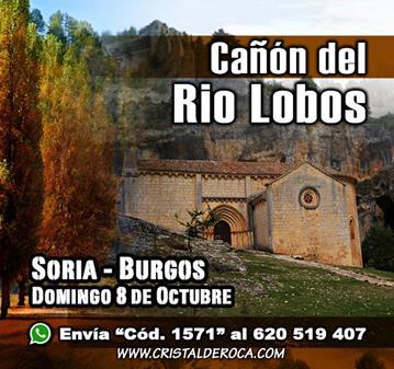 EXCURSIÓN: CAÑON DEL RIO LOBOS (SOMOS 42)