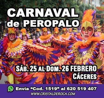 VIAJE: CARNAVAL DE PEROPALO - COMPARSAS NAVALMORAL MATA