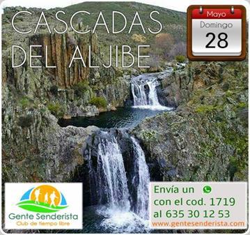 EXCURSIÓN: CASCADAS DEL ALJIBE / 26 APUNTADOS