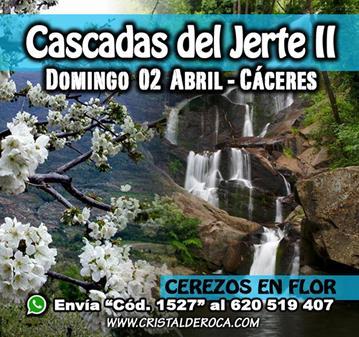 RUTA: CASCADAS DEL JERTE – CEREZO EN FLOR (II)