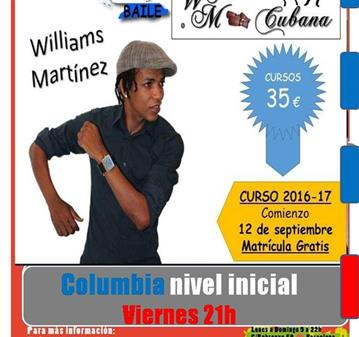 CURSO: COLUMBIA CON WILLIAMS MARTÍNEZ