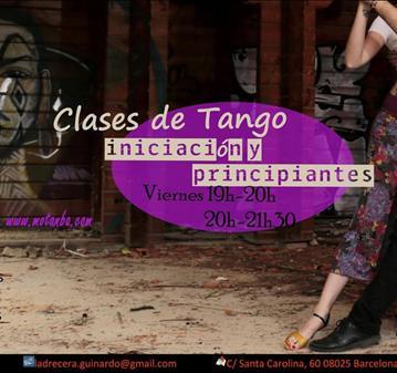 CLASE DE INICIACIÓN AL TANGO.