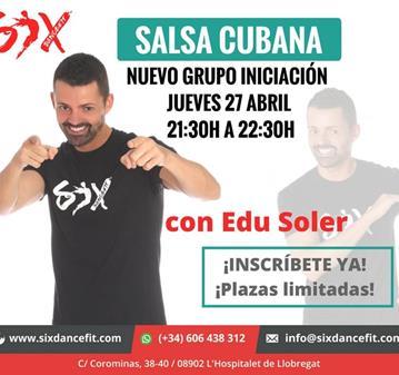 CLASE DE SALSA  NUEVO GRUPO INICIACIÓN
