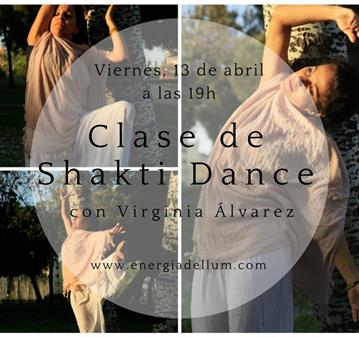 CLASE DE SHAKTI DANCE, EL YOGA DE LA DANZA