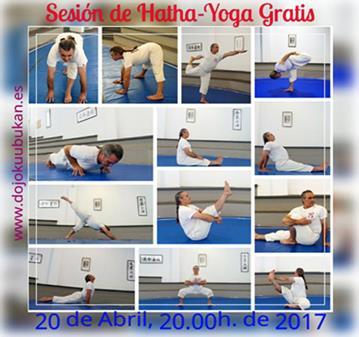 CLASE GRATIS DE HATHA-YOGA EN EL DOJO KUUBUKAN
