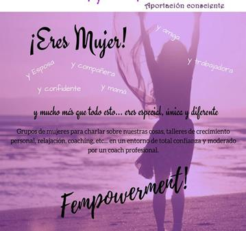 REUNIÓN DE MUJERES: FEMPOVERMENT