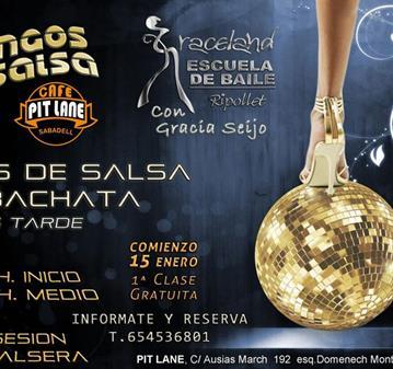 MASTERCLASS: CLASES DE SALSA Y BACHATA DOMINGOS POR LA TARDE