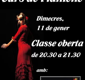 CLASE: CLASSE OBERTA DE FLAMENC