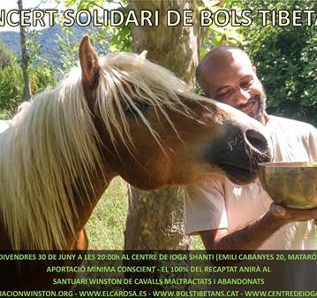 CONCERT SOLIDARI DE BOLS TIBETANS:SANTUARI WINSTON