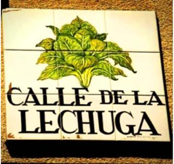 VISITA GUIADA: CONOCER EL ORIGEN DEL NOMBRE DE LAS CALLES