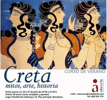 CURSO: CRETA. MITOS, ARTE, HISTORIA