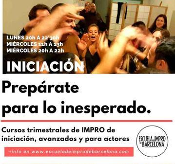 CURSO DE IMPROVISACIÓN TEATRAL