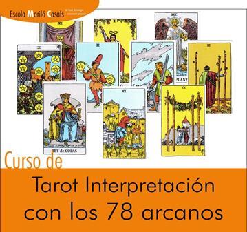 CURSO DE TAROT INTERPRETACIÓN CON LOS 78 ARCANOS