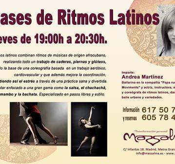 CLASE: RITMOS LATINOS