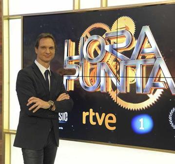 QUEDADA: DE PÚBLICO EN LA TV: HORA PUNTA (JAVIER CARDENAS)