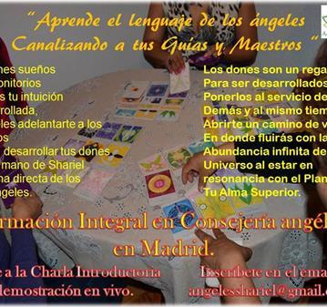 CHARLA Y DEMO DEL CURSO DE CARTAS DE ARCÁNGELES