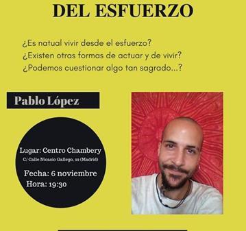 CHARLA: DESMONTANDO EL MITO DEL ESFUERZO. CHARLA -DEBATE