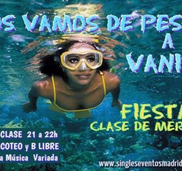 FIESTA: EL SABADO VAMOS DE PESCA+CLASE+PICOTEO+2CONS+COPA