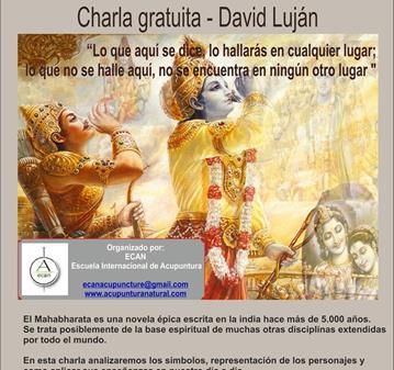 CHARLA: EL MAHABHARATA, HISTORIAS DE LA INDIA.